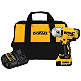 DEWALT DCF899M1 20V MAX XR Brushless High Torque Impact Wrench with Dentent Pin Anvil, 1/2'