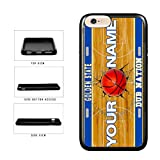 BleuReign(TM) Personalized Dub Nation Custom Name Basketball Team Golden State License Plate TPU RUBBER SILICONE Phone Case Back Cover For Apple iPhone 6 Plus and iPhone 6s Plus (5.5 Inches Screen)