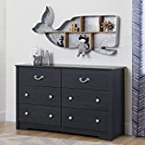 Product review for South Shore Aviron 6-Drawer Double Dresser, Blueberry
