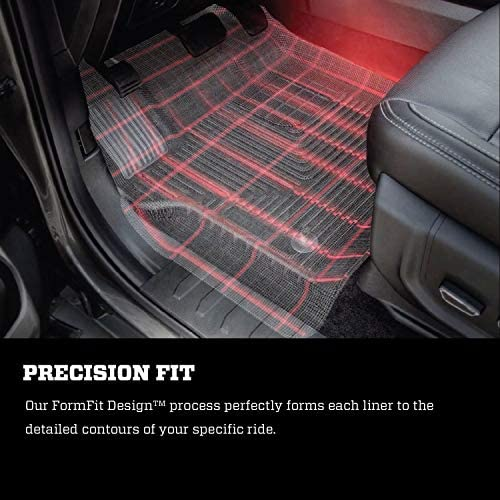 Husky Liners Fits 2015-20 Ford F-150 SuperCrew Weatherbeater Front & 2nd Seat Floor Mats 6