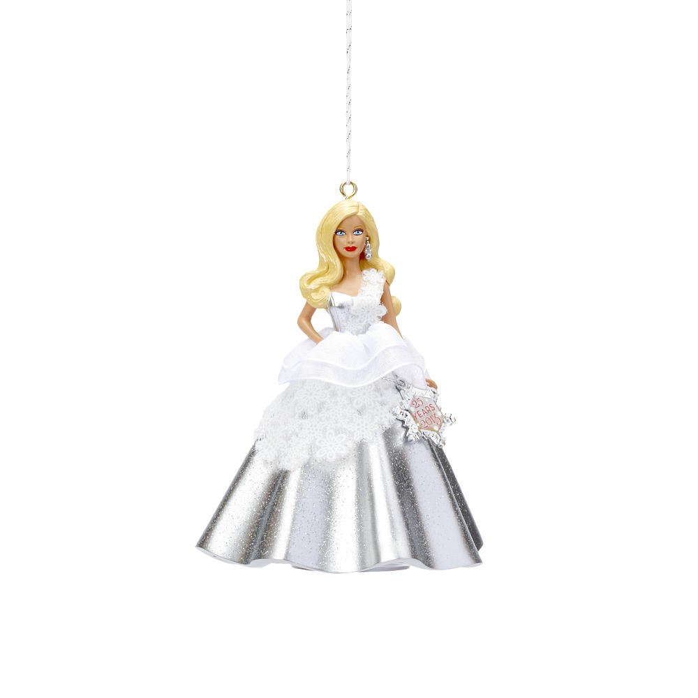 Carlton Heirloom Series Ornament 2013 Holiday Barbie