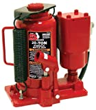 Torin Big Red Air Hydraulic Bottle Jack, 20 Ton Capacity
