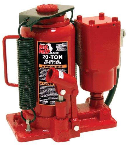 Torin Big Red Air Hydraulic Bottle Jack, 20 Ton Capacity