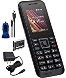 Kyocera S1370 Rally Unlocked 3G Quad Band, Camera, Bluetooth, Candy Bar World Phone (with Car/Wall Charger)