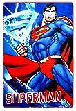 DC Comics Superman Kids Soft Fleece Blanket 100 X 150 CM