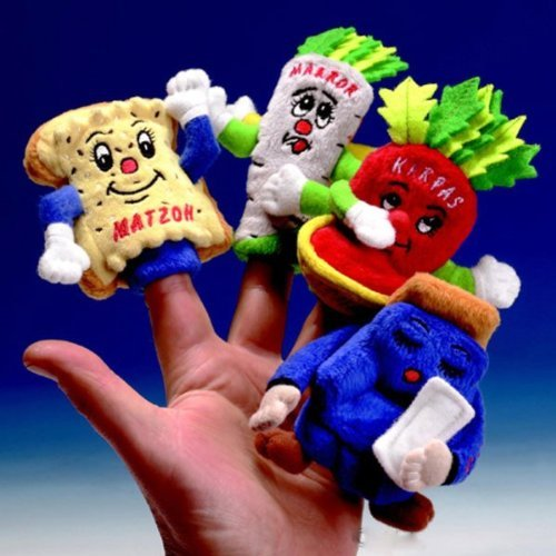 Rite Lite TYPP-PUP-PAS Finger Puppets - Set of 4 - Pack Of 6 by Rite Lite