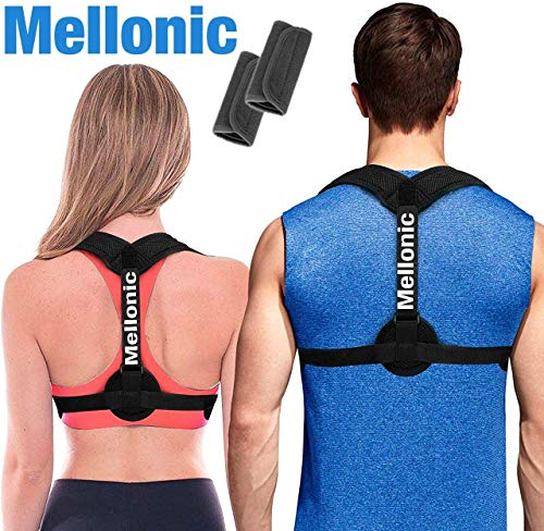 i-Healz Posture Corrector for Women & Men, Effective and Comfortable Posture Brace   Provides Clavicle Support and Pain Relief for Neck, Back & Shoulder