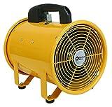Comfort Zone CZMC24 HBCLCZMC24 Industrial Drum Fan, 24' Barrel-Direct Drive, Black