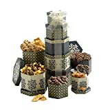 Token of Appreciation Gift Tower The Perfect Gift Basket for Birthdays, Sympathy or Any Occasion