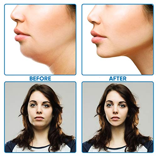 V Shaped Slimming Face Mask Double Chin Reducer V Line Lifting Mask Neck Lift Tape Face Slimmer Patch For Firming and Tightening Skin 4