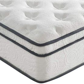 Modway-Jenna-10-Twin-Innerspring-Mattress-Quality-Quilted-Pillow-Top-Individually-Encased-Pocket-Coils-10-Year-Warranty-Twin-White