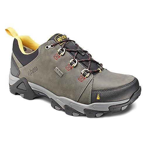 Ahnu Men's Coburn Low Waterproof Boots, Steel Grey, 7 D(M) US