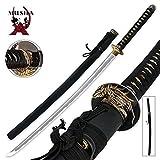 Japanese Handmade Sharp Orchid Katana Samurai Sword