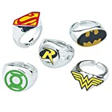 SmileMakers DC Comic Superhero Rings - Prizes 50 per Pack