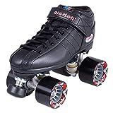 Riedell Skates R3 Roller Skate,Black,11