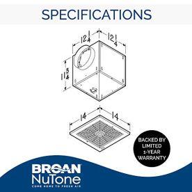 Broan-NuTone-L300-High-Capacity-Ventilator-Fan-Commercial-Exhaust-Fan-29-Sones-120V-308-CFM-White