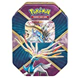 Pokemon TCG: Xerneas EX Pokemon Tin - Legends of Kalos Tin Contains 4 Pokemon Booster Packs and Ultra Rare Xerneas EX