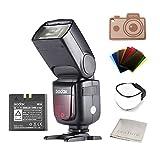 Godox Ving V860II-N I-TTL Li-ion Flash Speedlite for Nikon Cameras D800 D700 D7100 D7000 D5200 D5100 D5000 D300 D300S D3200 D3100 D3000 D200 D70S D810 D610 D90 D750