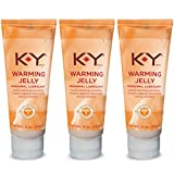 K-Y Warming Jelly Lubricant 5 oz (Pack of 3)