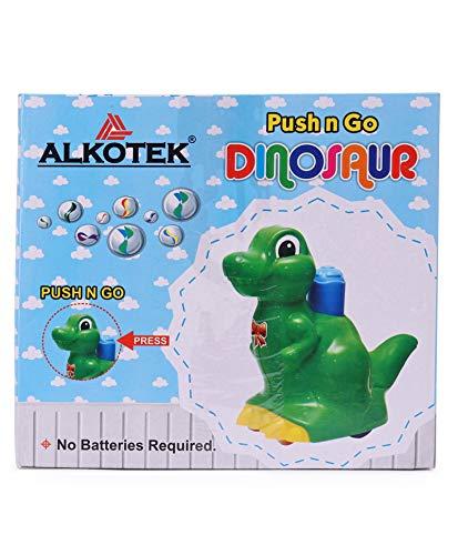 51zLiLFPwyL Pretty Child Toys Dinosaur Push & Go Animal Toy for Children / Infants (Orange) - Made in India