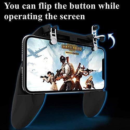 PUBG Mobile Remote Controller Gamepad Holder Handle Joystick Triggers L1 R1 Shoot Aim Button