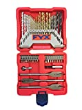 FYX Household Drill and Drive Mixed Set for Wood, Metal and Masonry (40 pcs)