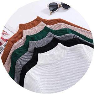Autumn Turtleneck Pullovers Sweaters Primer Shirt Long Sleeve Short Korean Sweater