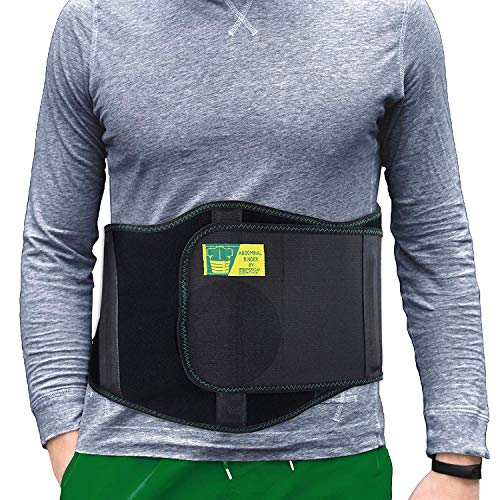 Ergonomic Umbilical Hernia Belt – Abdominal Binder for Hernia Support – Umbilical Navel Hernia Strap with Compression Pad – Ventral Hernia Support for Men and Women – Large/XXL Plus Size (42-57 in) deal 50% off 51zUJz A9sL