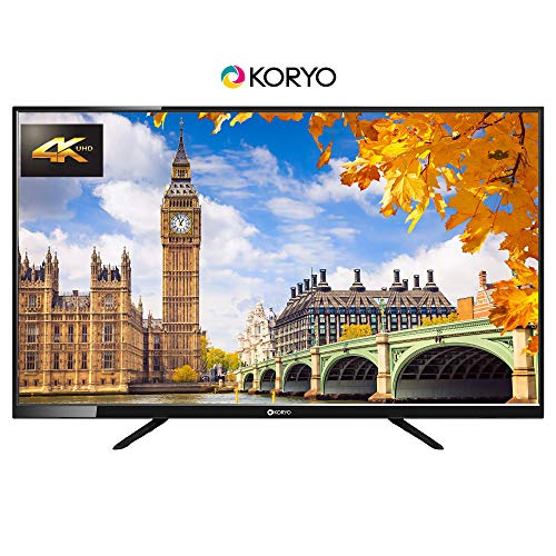 Koryo 127 cm (50 inches) 4K Ultra HD LED TV KLE50UDFR63U (Black) (2019 Model) 141