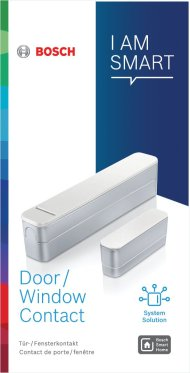 Contact de porte/fenêtre et détecteur d'ouverture Bosch