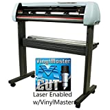 USCutter 34 Inch SC2 Series Vinyl Cutter Laser Enabled w/VinylMaster Design/Cut Software