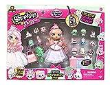 Shopkins Shoppies Bridie Exclusive Super Shopper Pack - Bride Doll Wedding Fashion Shopping Spree (20+Piece) Pink