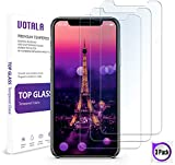 Aslanda Compatible iPhone X Tempered Glass Screen Protector, iPhone X Screen Protector, iPhone X Glass Screen Protector. 9H Hardness 3D Touch Compatible Best Glass for Your Best Phone
