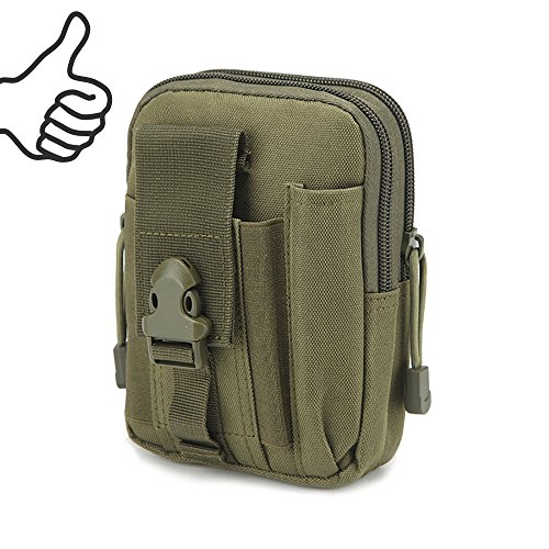 Multi-Purpose EDC Vape Pouch Bag, Vape Case,Tactical Bag Pouch, Military Nylon Utility Tactical Waist Pack Camping Hiking Pouch(Navy)