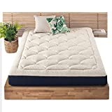 MELLOW 8 Inch Marshmallow Queen Mattress, Bed in a Box, Pillow-Top, Plush, Cushion-TopCertiPUR-US Certified Non Toxic Foams, Oeko-TEX Certified Eco Cover, 10-Year Warranty
