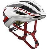 Scott Centric Plus Bike Helmet - White/Red Medium