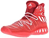 adidas Men's Crazy Explosive Basketball Shoes, Scarlet/White/University Red, ((7.5 M US)