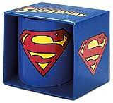 Superman LOGOSHIRT - Mug DC Comics Logo Coffee Mug - Blue - Licensed Original Design
