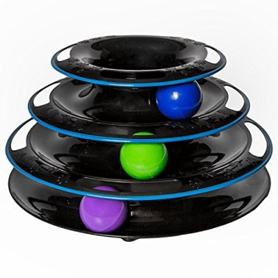 Easyology Amazing Roller Cat Toy – Cat Toys Interactive...
