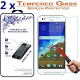 2X HTC Desire 830 Screen Protector,[2 Pack] Nacodex for HTC Desire 830 Premium Ballistic Tempered Glass Screen Protector