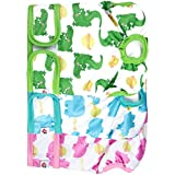 wegreeco Luxury Washable Reusable Dog Diapers (New Pattern) - Durable Female Dog Diapers, Stylish Doggie Diapers, 3 Pack(Fancy,Small)