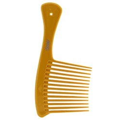 """Amazon.com : Annie Salon Style Jumbo Rake Comb with 3"""" Wide Teeth for  Styling Detangeling and cutting Hair - Bone Color : Hair Combs : Beauty"""