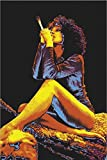 24'x36' Smoking Woman Blacklight Poster