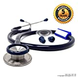 IndoSurgicals Silvery II-SS Stethoscope (Blue, 15011-BE)
