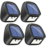 Solar Lights Outdoor, 29 LED Solar Motion Sensor Lights - Waterproof Security Light - Solar Wall Lights with Motion Activated Auto ON/Off for Outdoor Deck Patio Backdoor Driveway Garage Garden(4 pack)