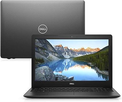 Notebook Dell Inspiron i15-3584-M10P 7ª Geração Intel Core i3 4GB 1TB 15.6″ Windows 10 McAfee Preto