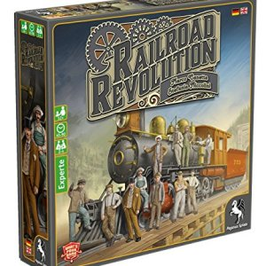 Pegasus Spiele 56020G Railroad Revolution Board Game 61 2BpQKGcHvL