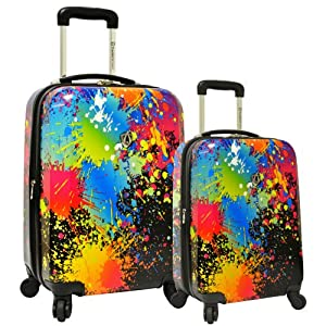 Traveler's Choice Midway 2-Piece Hardside Expandable Luggage Set
