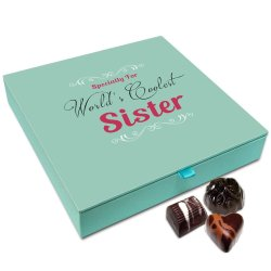 Chocholik Rakhi Gift Box – Specially for Coolest Sister Chocolate Box for Sister – 9pc