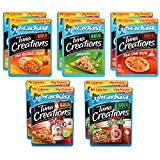 Variety Pack of 10 Starkist BOLD Tuna Creations - 2.6 Oz Each- 2 Hot Buffalo Style, 2 Thai Chili Style, 2 Jalapeno, 2 Sriracha, 2 Tapatio With Lime